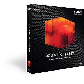 SONY Sound Forge Pro 11 - Upgrade